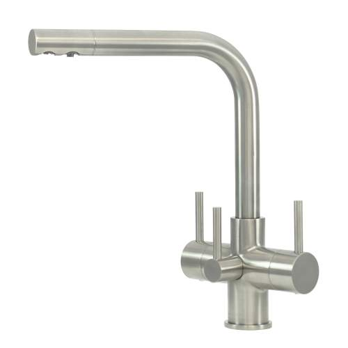 Bluci NOVANTA2 TriPuro Water Filter Kitchen Tap with Three Levers