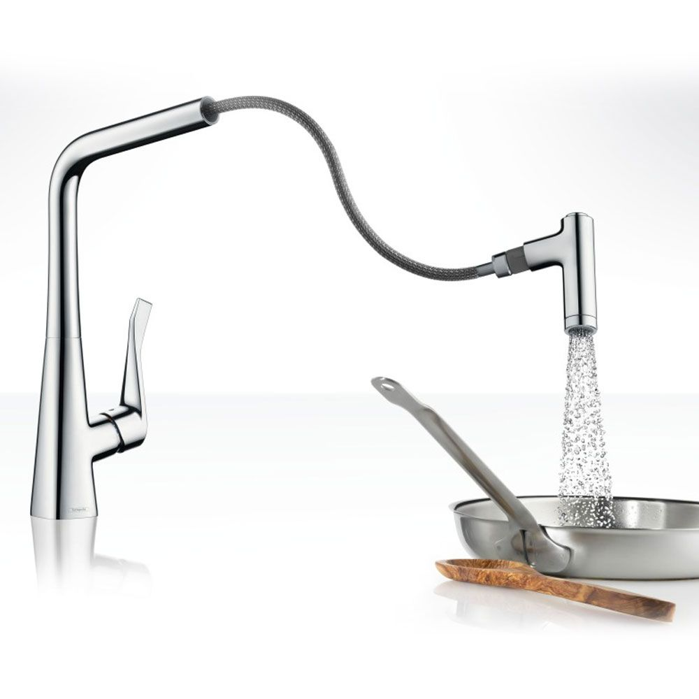 hansgrohe metris select 320 kitchen tap sinks. Black Bedroom Furniture Sets. Home Design Ideas