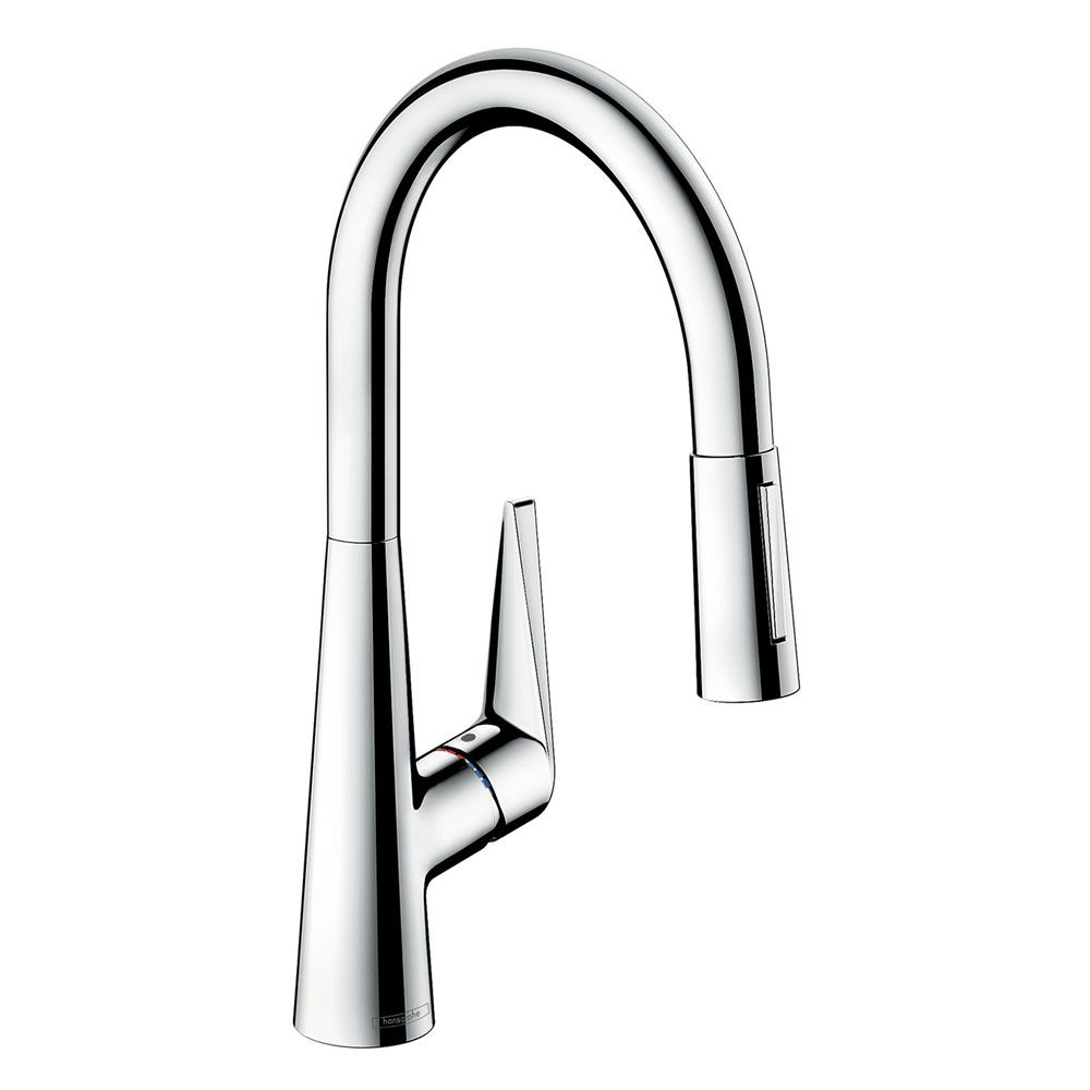 Hansgrohe Talis S 200 Mixer Pull Out Spray Tap - Sinks-Taps.com