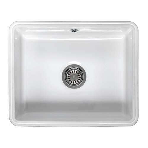 Reginox MATARO Single Bowl Ceramic Undermount Sink
