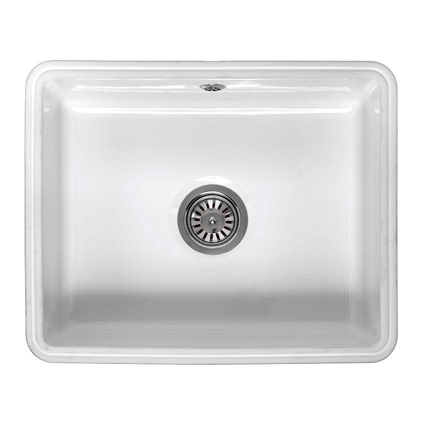 Reginox MATARO Single Bowl Ceramic Undermount Sink ...
