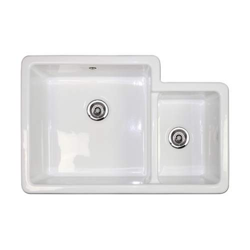 Shaws Brindle 800 1.75 Bowl Ceramic Kitchen Sink BRINDLE800