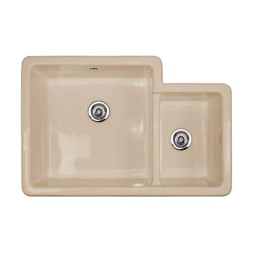 Shaws Brindle 800 1.75 Bowl Ceramic Kitchen Sink BRINDLE800/BI