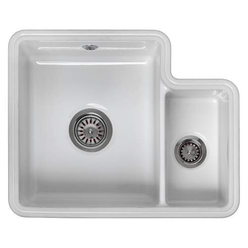 Reginox TUSCANY 1.5 Bowl Ceramic Undermount Kitchen Sink