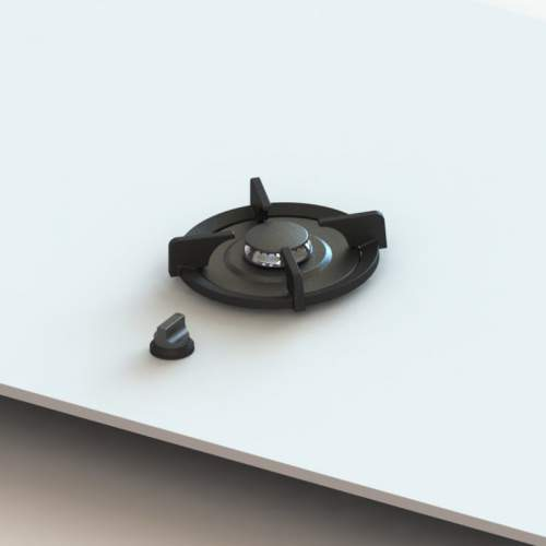 AKAN PITT® by Reginox - 1 PITT Individual Small Gas Hob