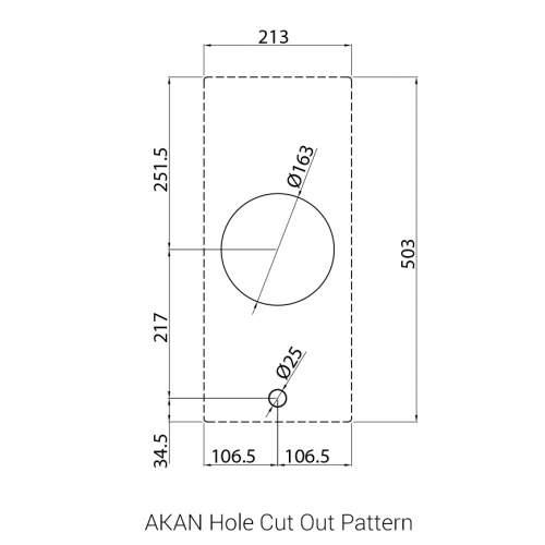 PITT® by Reginox AKAN - 1 PITT Individual Gas Hob