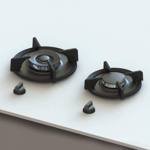 BAULA PITT by Reginox - 2 PITT  Individual Gas Hobs