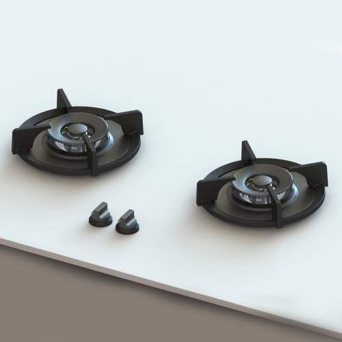 BROMO PITT by Reginox - 2 PITT Individual Wok/Simmer Gas Hobs