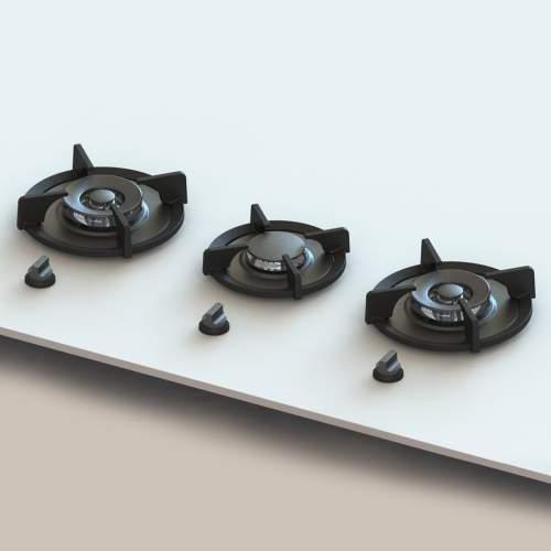 CUSIN PITT by Reginox - 3 PITT Individual Gas Hobs