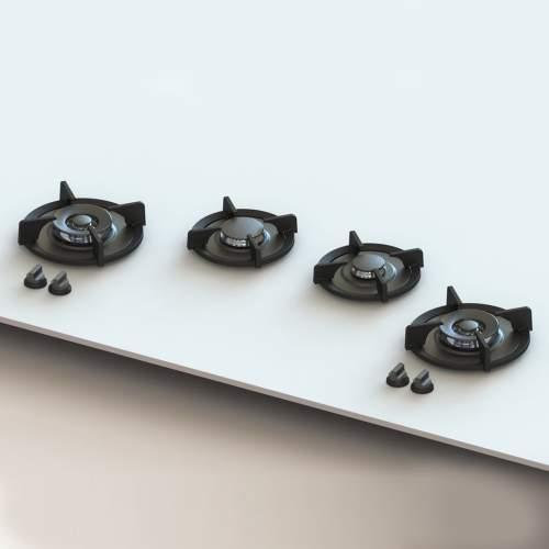 DRUM PITT by Reginox - 4 PITT Individual Gas Hobs