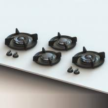 DEMPO PITT by Reginox - 4 PITT Individual Gas Hobs