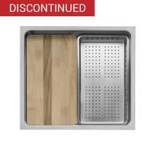 Caple AXLE 45 Inset or Undermount Stainless Steel Kitchen Sink - AXL45