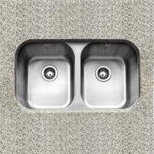 Caple FORM 3636 Double Bowl Undermount Kitchen Sink