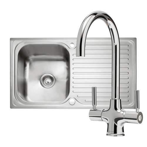 Caple Sabre 100 PK/SA100 Sink and Tap Pack