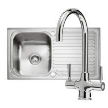 Caple Sabre 100 PK/SA100 Sink and Tap Pack