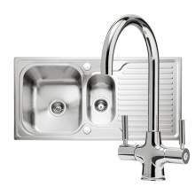Caple Sabre 150 PK/SA150 Sink and Tap Pack