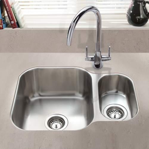 Bluci RUBUS 150UR Undermount 1.5 Bowl Sink
