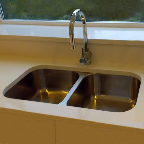 RUBUS 3535U Undermount 2.0 Bowl Kitchen Sink