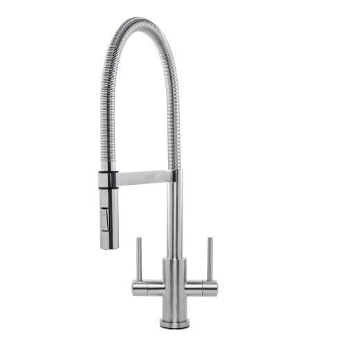 Caple Novato Stainless Steel Pull-Out Spray Kitchen Tap