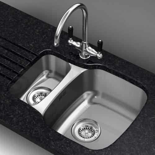 Reginox Nebraska 1.5 Bowl Kitchen Sink