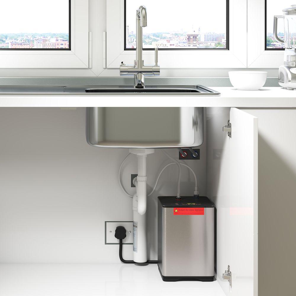 Kitchen Instant Hot Water : Reginox amanzi in instant hot water tap sinks taps