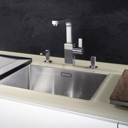 Blanco CLARON 500-U Steelart Kitchen Sink