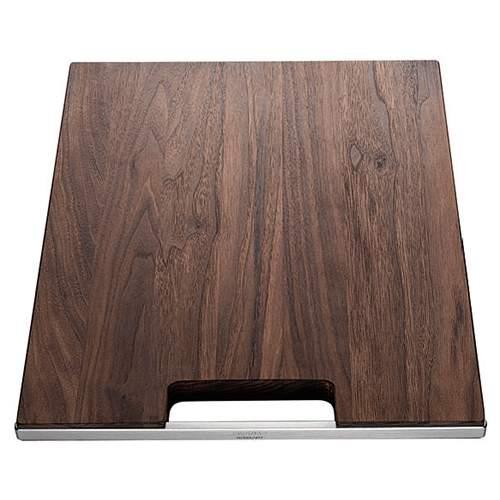 Blanco Steelart Elements Wooden Walnut Finish Chopping Board - BL467638
