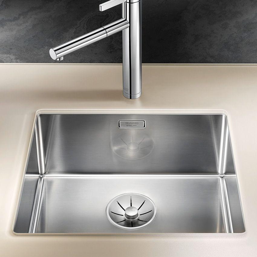 Blanco Claron 450 U Steelart Kitchen Sink Sinks Taps Com