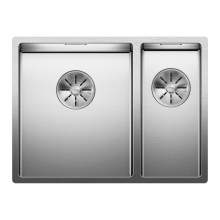 Blanco CLARON 340/180-U Steelart Elements Undermount Kitchen Sink - Models: BL467696