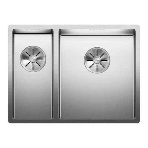 Blanco CLARON 340/180-U Steelart Elements Undermount Kitchen Sink - Models: BL467697