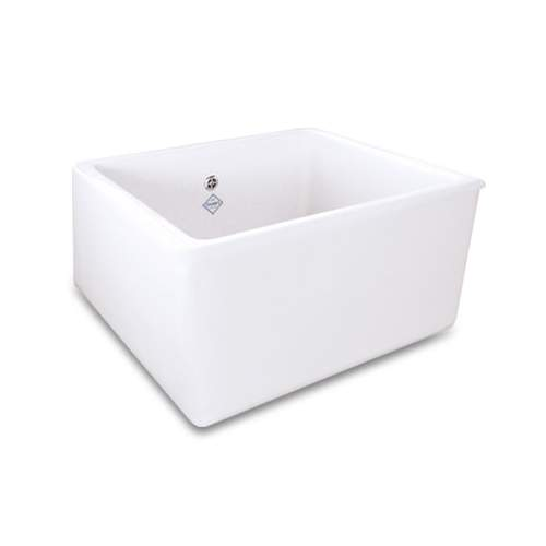 Shaws Whitehall Deep Bowl Belfast Kitchen Sink in White