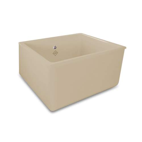 Shaws Whitehall Deep Bowl Belfast Kitchen Sink in Biscuit