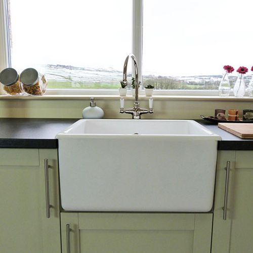 Shaws Whitehall Deep Bowl Belfast Kitchen Sink Sinks
