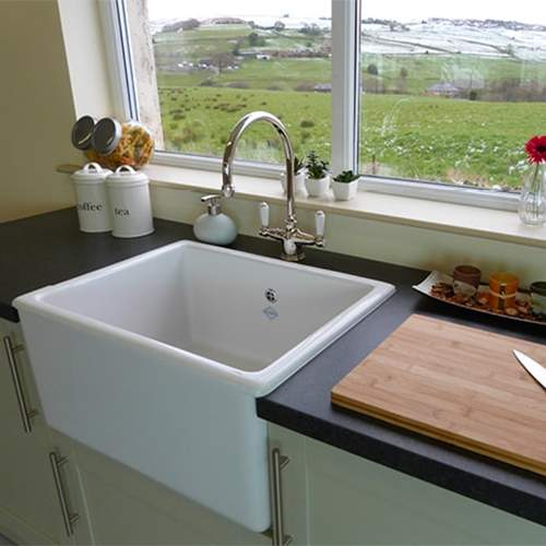 Shaws Whitehall Deep Bowl Belfast Kitchen Sink