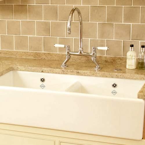 Shaws Classic Shaker Double 800 Belfast Sink - Lifestyle