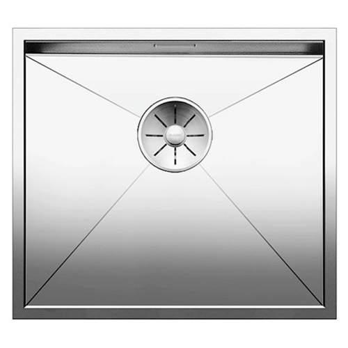 Blanco ZEROX 450-U Steelart Elements Undermount Kitchen Sink