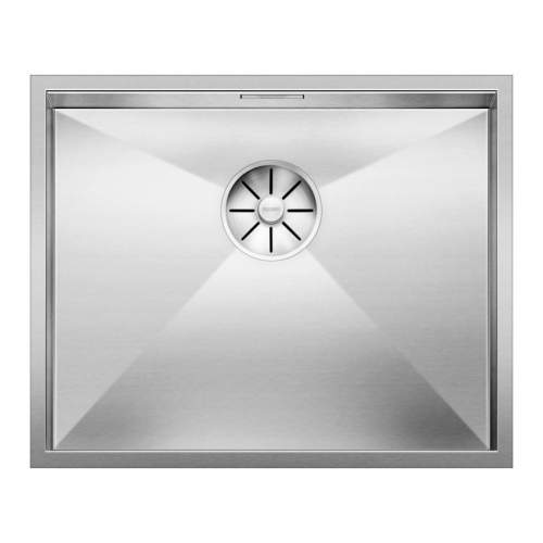 Blanco ZEROX 500-U Steelart Elements Undermount Kitchen Sink