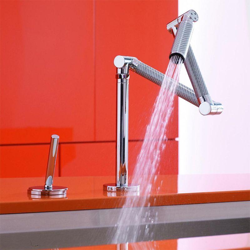 Kohler Karbon Kitchen Mixer Tap With Dual Spray Sinks