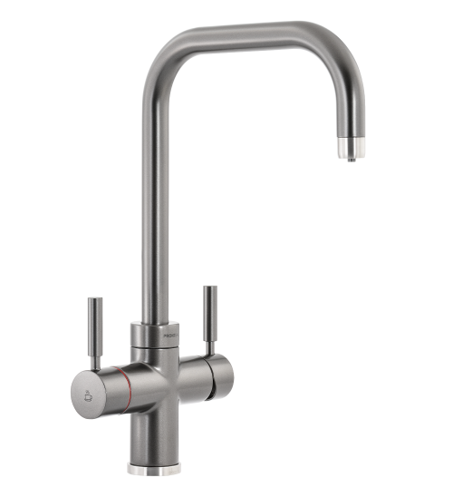 Abode PRONTEAU  Prostyle 3 in 1 Kitchen Tap in Graphite