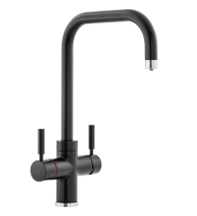 Abode PRONTEAU  Prostyle 3 in 1 Kitchen Tap in Black