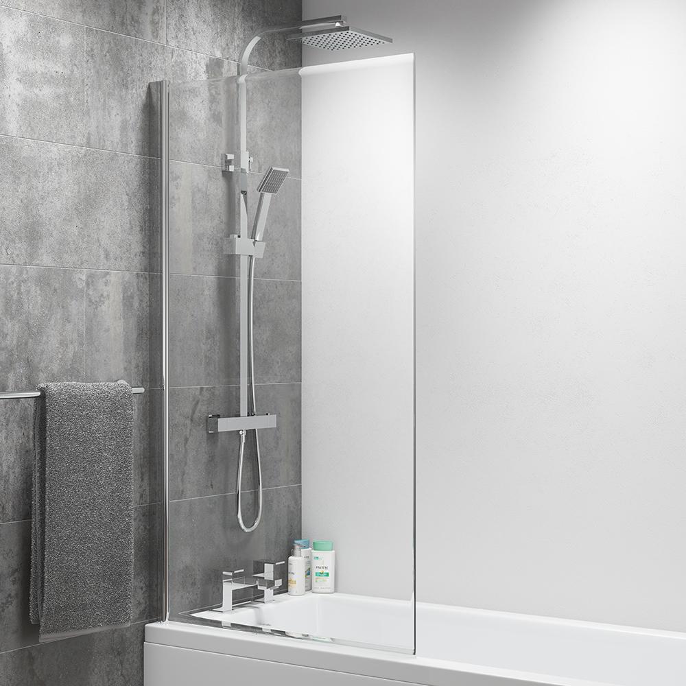Aquabro Square Bath Screen Sinks Taps Com