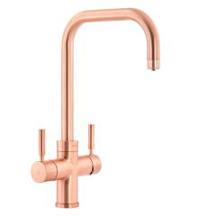 Abode PRONTEAU  Prostyle 3 in 1 Kitchen Tap in Urban Copper