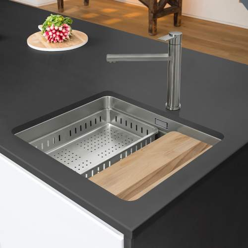 Caple AXLE 50 Stainless Steel Kitchen Sink