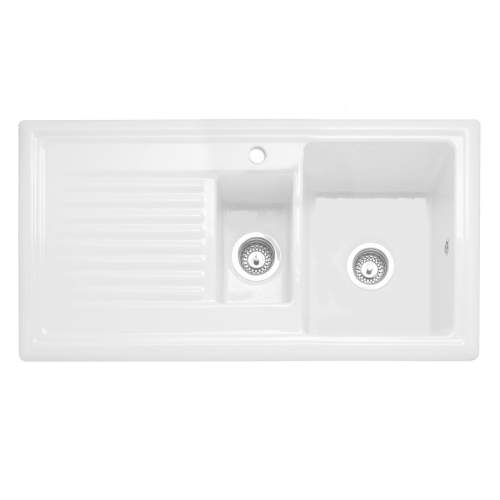 Caple WILTSHIRE 150 1.5 Bowl Inset Ceramic Kitchen Sink