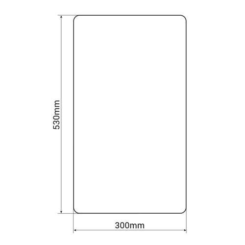 Bluci Glass Chopping Board Accessory