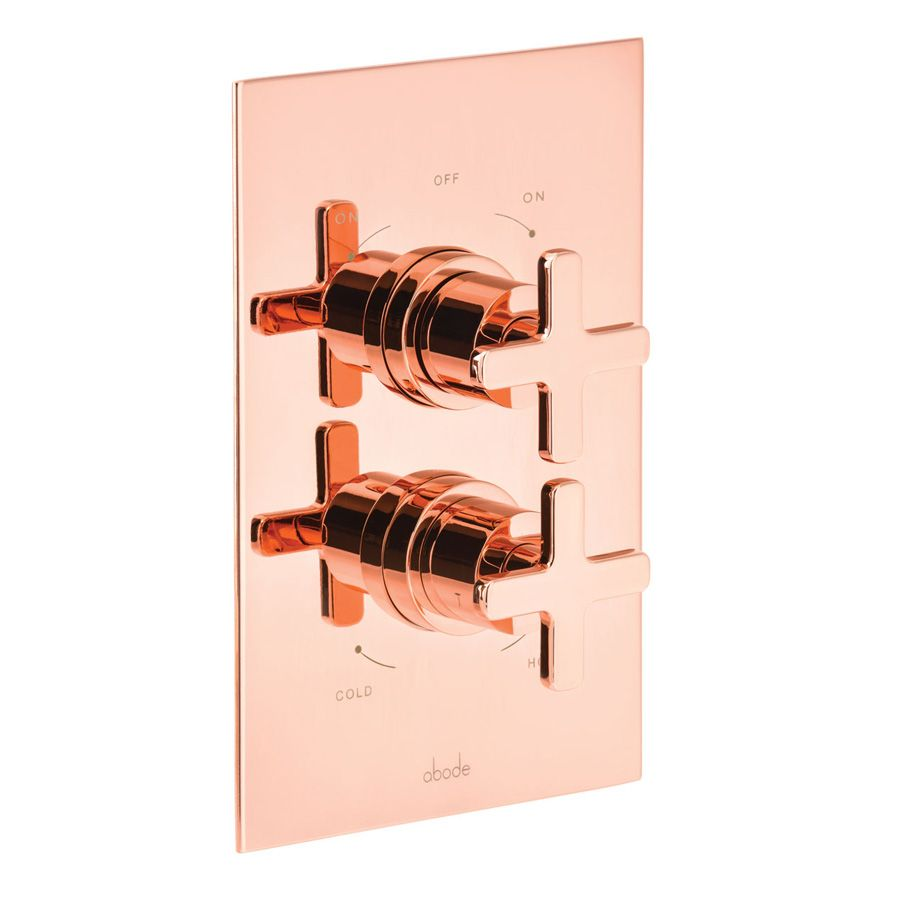 Abode Serenitie Concealed Thermostatic Shower in Rose Gold-AB2606 ...