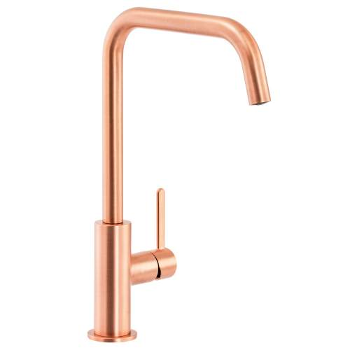 Abode Althia Single Lever Kitchen Tap in Urban Copper - AT1272