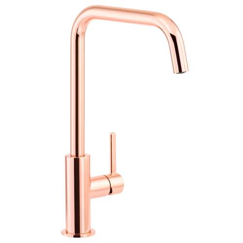 Abode Althia Single Lever Kitchen Tap in Rose Gold - AT1271