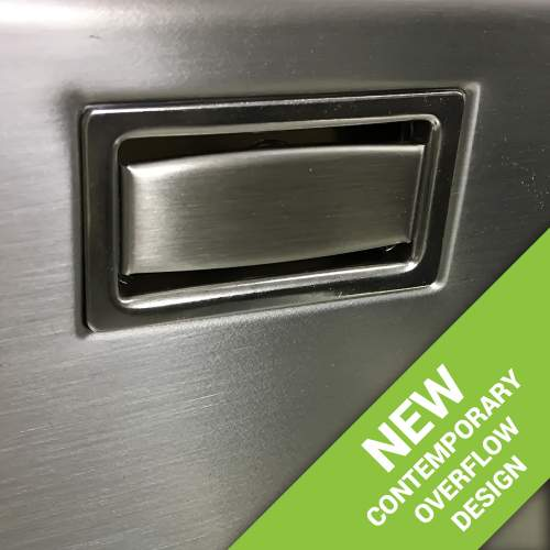 New contemporary overflow plate