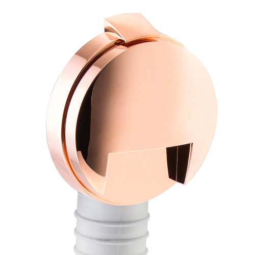 Abode Bath Overflow Filler & Clicker Waste Kit in Rose Gold - AB2611